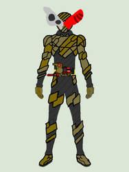 Kamen Rider Limit Spiral Trigger ProtoRabbit by Shadowmwape