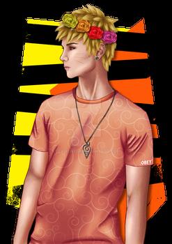 Naruto The Flower Boy