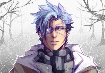 Liam in Winter by Elusha-Rush