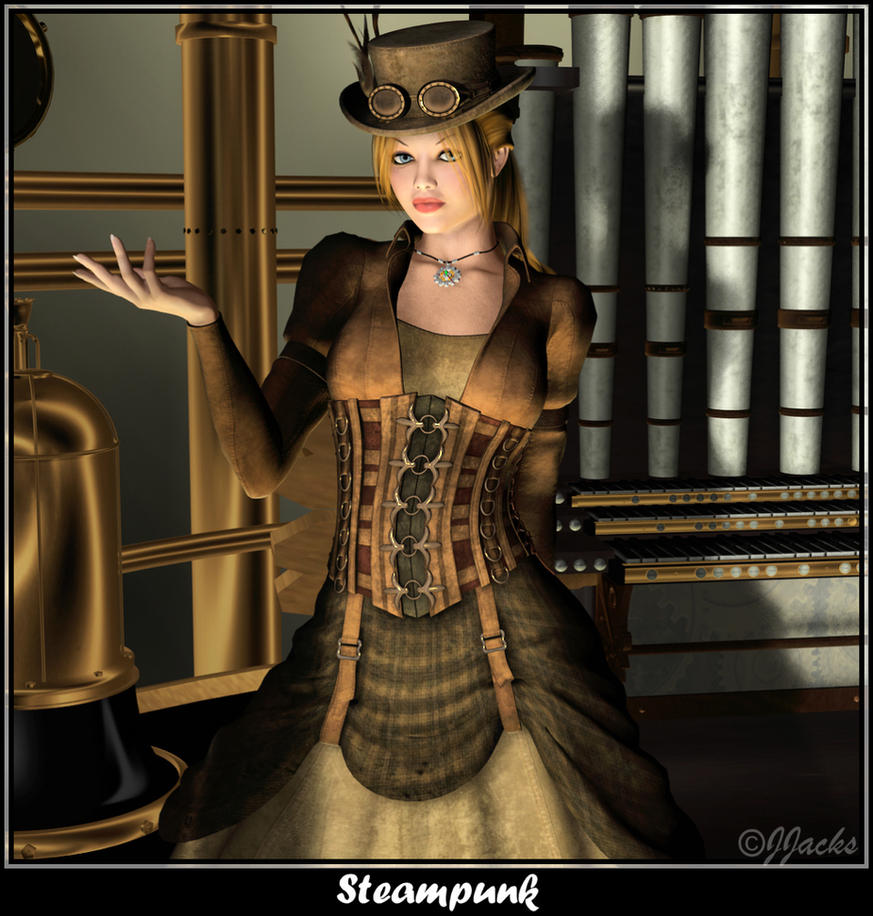 Steampunk by DestinysGarden