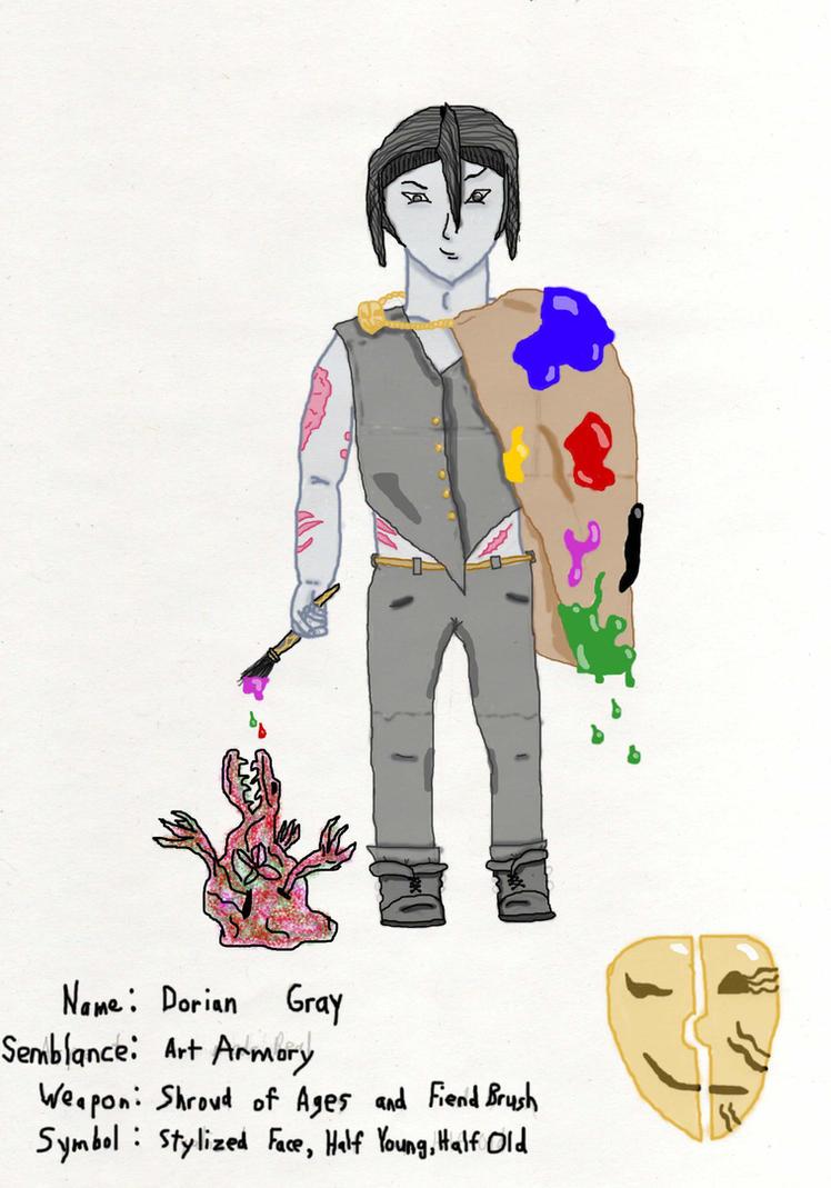 Rwby Oc Dorian Gray By Warrior Of Tzeentch On Deviantart