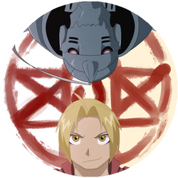 Fullmetal Alchemist Icon - Edward and Alphonse by XyvernArtworks