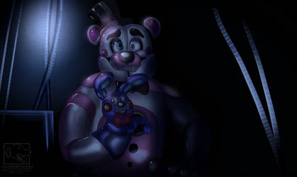 Funtime Freddy [Redraw] by XyvernArtworks