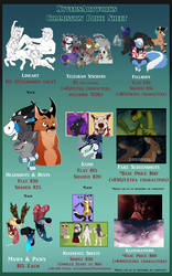 2018 Updated Price Sheet by XyvernArtworks