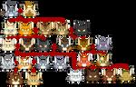 Cherrystripe's family tree