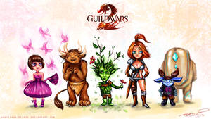 Guild Wars 2: The Races of Tyria