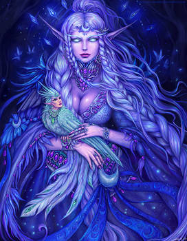 Elune be with you