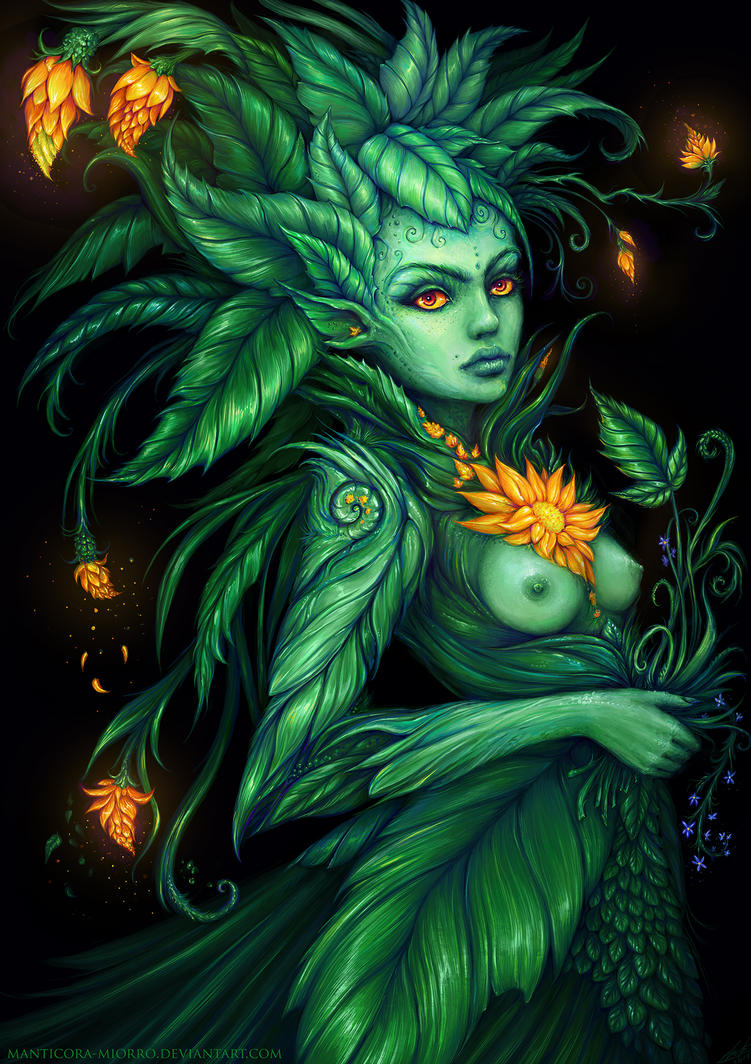 dryad by Manticora-Miorro