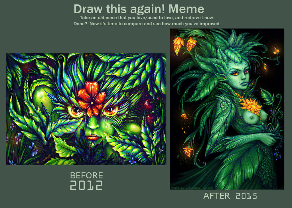Draw this again, 2012-2015 by Manticora-Miorro