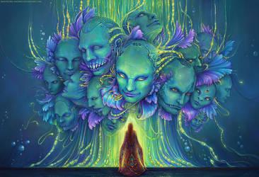 Collective mind by Manticora-Miorro