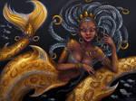 Silver and gold by Manticora-Miorro