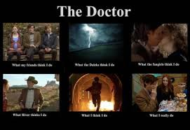 What people think the Doctor does... by DoctorWhoFan220
