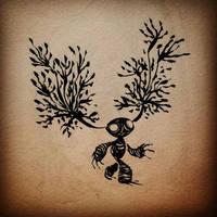 Forest spirit n.2 by Dendroabates