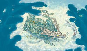 Underwater meeting