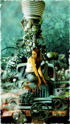 Machine Girl by vkacademy