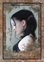 Solemn Girl by vkacademy