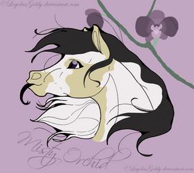011 Misty Orchid Portrait by LegolasGoldy
