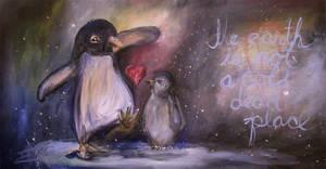 Penguins by jonescrusher