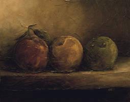 3 apples by jonescrusher