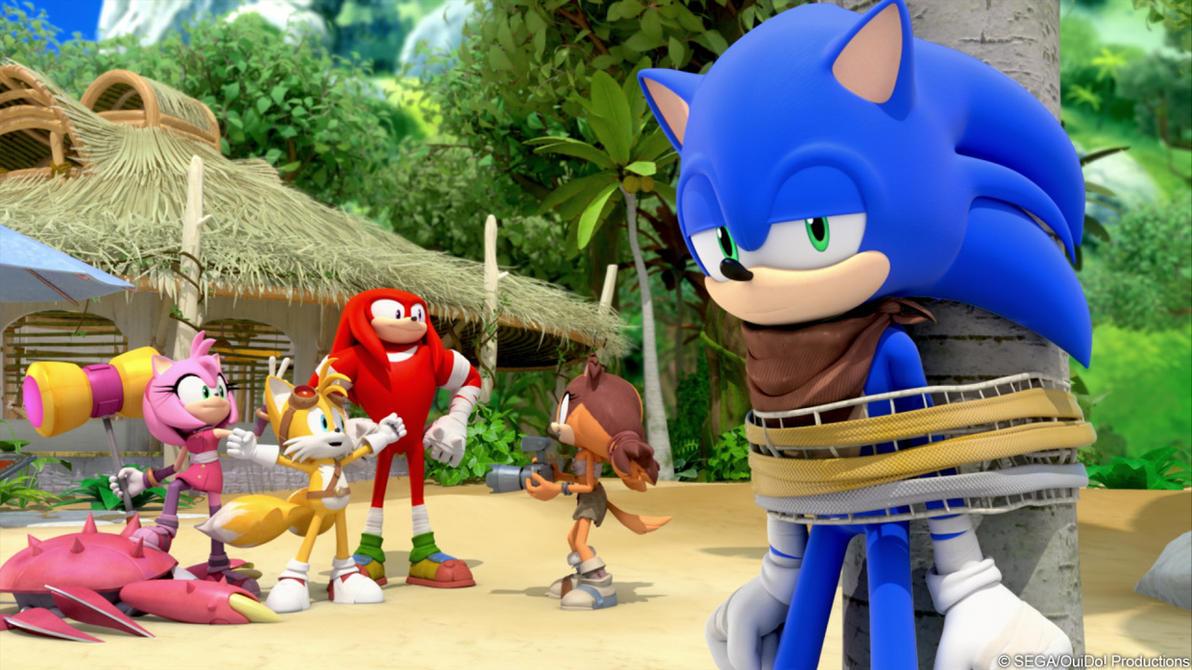 Sonic Boom: O Dia do Ouriço Dublado Online