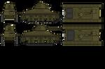 LT-34 Three-view by gool5000