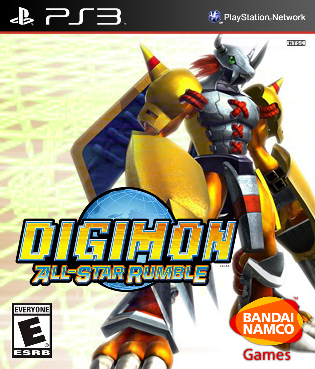 Donk Ultra Site Games Download Naruto Shippuden Ultimate: Digimon All-Star Rumble Cover (Ps3) By TeenTsuyoi On