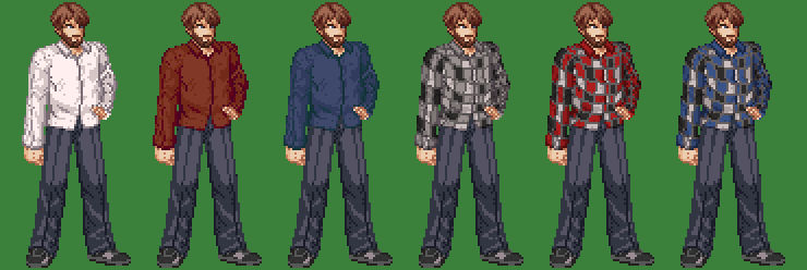 Sprite Edit of myself (Palettes)
