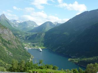 Norway - Geiranger 2 by Readek