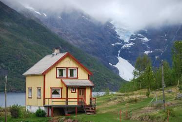 Norway - Osfjordjokelen by Readek