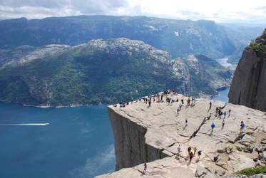 Norway - Preikestolen by Readek