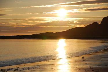 Norway - The midnight sun by Readek