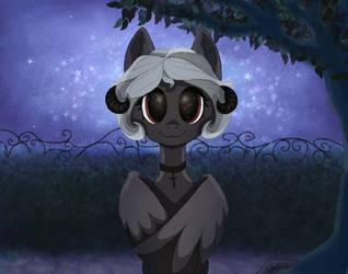 In the night garden by VivisArt