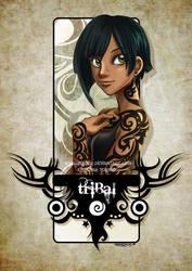 Tattoo girls- Tribal by HenarTorinos