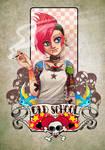 Tattoo Girls- Old School by HenarTorinos