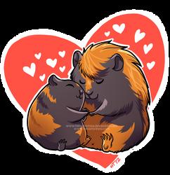More guinea pig love! by HenarTorinos