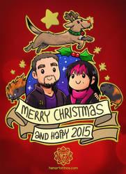 Merry Christmas 2014 by HenarTorinos