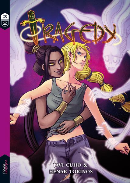 Tragedy - Book 2 Cover by HenarTorinos