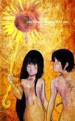 The sun by HenarTorinos