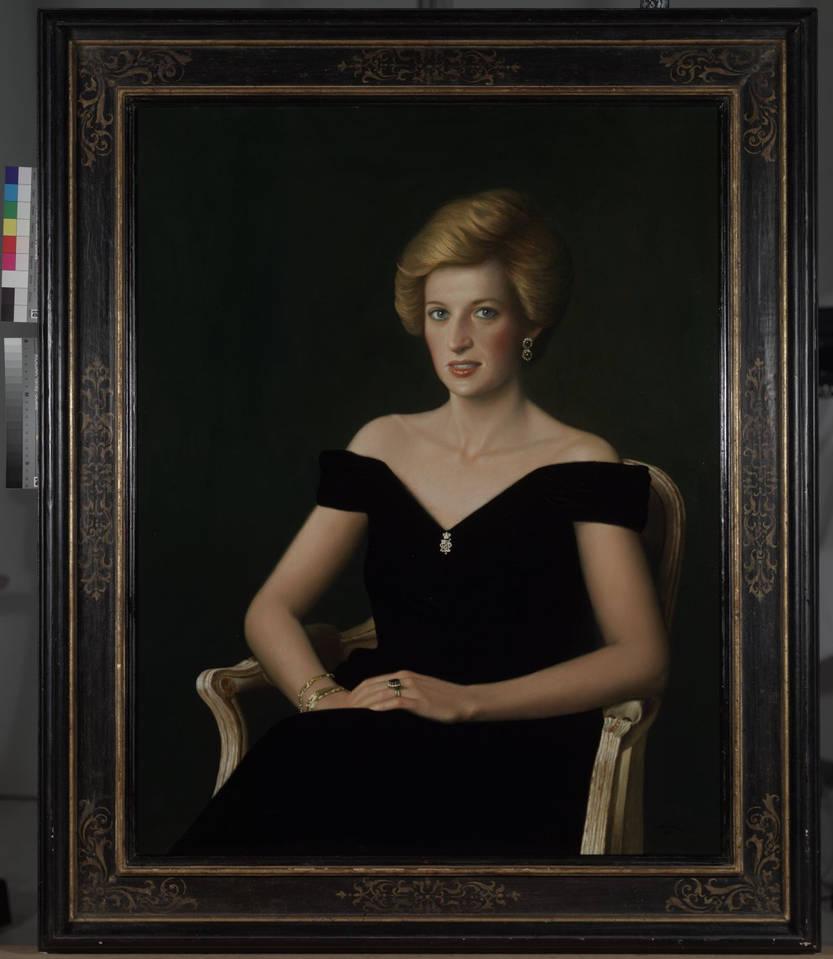 Portrait of princess diana