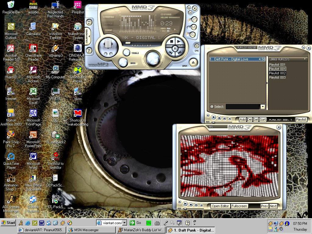 holyman's desktop