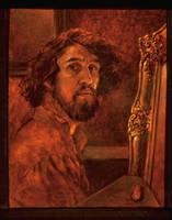 Self Portrait 1971 by holyman