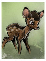 Bambi by ISHAWEE