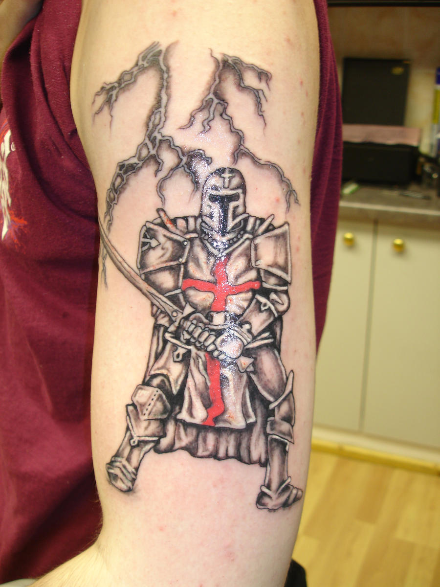 Templar Knight by Paultattoo