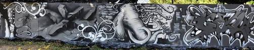 Graffiti Evolution - Metz by nOon9