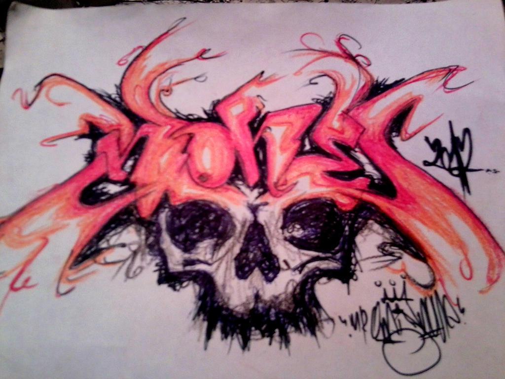 None n Skull by nOon9