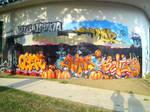 orange - Mural   Metz, France 2014 by nOon9