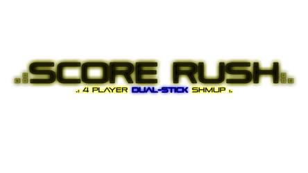 Score Rush logo inverted by matthewdoucette