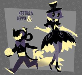 Kettilla and Teppo