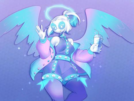 Vaporwave Angel