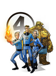 fantastic four by DC-Miller